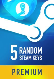 free steam game Random PREMIUM 5 Steam Keys