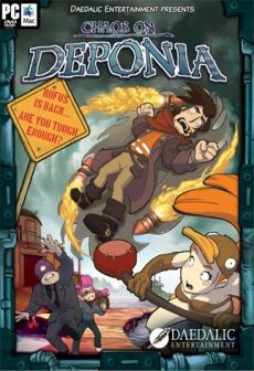 free steam game Chaos on Deponia