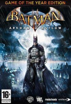 free steam game Batman: Arkham Asylum GOTY
