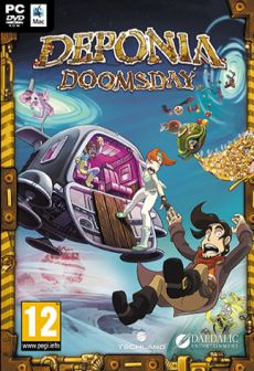 free steam game Deponia Doomsday