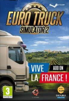 free steam game Euro Truck Simulator 2 - Vive la France!