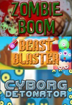 free steam game Zombie Boom + Beast Blaster + Cyborg Detonator