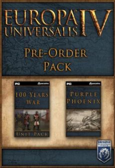 Europa Universalis IV: Pre-Order Pack Key Steam