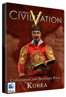Sid Meier's Civilization V: Civilization and Scenario Pack: Korea MAC