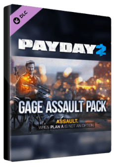 PAYDAY 2: Gage Assault Pack