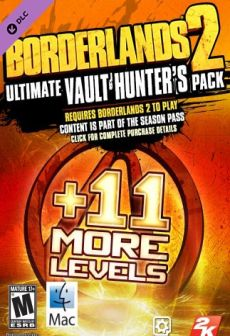 free steam game Borderlands 2 - Ultimate Vault Hunters Upgrade Pack