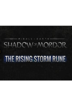 Middle-earth: Shadow of Mordor - Rising Storm Rune Key Steam PC