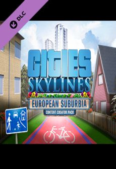Cities: Skylines - Content Creator Pack: European Suburbia DLC