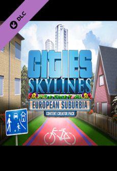 free steam game Cities: Skylines - Content Creator Pack: European Suburbia DLC