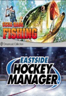 SEGA Bass Fishing + Eastside Hockey Manager