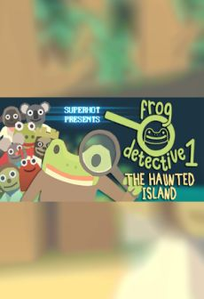 free steam game The Haunted Island, a Frog Detective Game