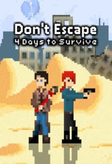 free steam game Don't Escape: 4 Days to Survive