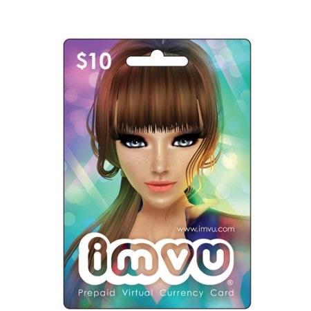 IMVU $10 Prepaid Card