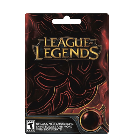 $10 LOL Riot Points Card (NA)