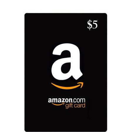 $5 Amazon Gift Card (US)
